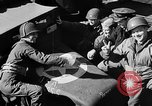 Image of American troops aboard LST English Channel, 1944, second 52 stock footage video 65675051824