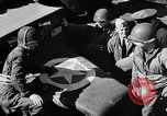 Image of American troops aboard LST English Channel, 1944, second 53 stock footage video 65675051824