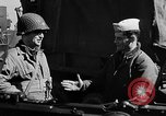 Image of American troops aboard LST English Channel, 1944, second 54 stock footage video 65675051824