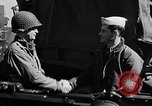 Image of American troops aboard LST English Channel, 1944, second 55 stock footage video 65675051824