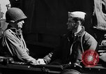 Image of American troops aboard LST English Channel, 1944, second 56 stock footage video 65675051824