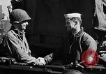 Image of American troops aboard LST English Channel, 1944, second 58 stock footage video 65675051824
