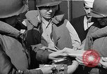 Image of American troops English Channel, 1944, second 32 stock footage video 65675051826