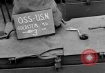 Image of LST communication using semaphore, signal flags, and blinking lights English Channel, 1944, second 5 stock footage video 65675051829