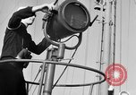 Image of LST communication using semaphore, signal flags, and blinking lights English Channel, 1944, second 7 stock footage video 65675051829