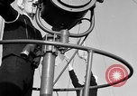 Image of LST communication using semaphore, signal flags, and blinking lights English Channel, 1944, second 19 stock footage video 65675051829