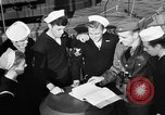Image of LST communication using semaphore, signal flags, and blinking lights English Channel, 1944, second 22 stock footage video 65675051829