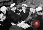 Image of LST communication using semaphore, signal flags, and blinking lights English Channel, 1944, second 23 stock footage video 65675051829