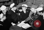 Image of LST communication using semaphore, signal flags, and blinking lights English Channel, 1944, second 24 stock footage video 65675051829