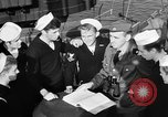 Image of LST communication using semaphore, signal flags, and blinking lights English Channel, 1944, second 25 stock footage video 65675051829