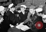 Image of LST communication using semaphore, signal flags, and blinking lights English Channel, 1944, second 26 stock footage video 65675051829