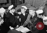 Image of LST communication using semaphore, signal flags, and blinking lights English Channel, 1944, second 27 stock footage video 65675051829