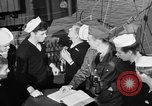 Image of LST communication using semaphore, signal flags, and blinking lights English Channel, 1944, second 28 stock footage video 65675051829