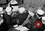 Image of LST communication using semaphore, signal flags, and blinking lights English Channel, 1944, second 30 stock footage video 65675051829