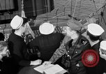 Image of LST communication using semaphore, signal flags, and blinking lights English Channel, 1944, second 31 stock footage video 65675051829