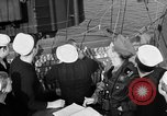 Image of LST communication using semaphore, signal flags, and blinking lights English Channel, 1944, second 34 stock footage video 65675051829