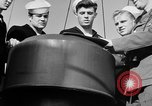 Image of LST communication using semaphore, signal flags, and blinking lights English Channel, 1944, second 38 stock footage video 65675051829