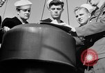 Image of LST communication using semaphore, signal flags, and blinking lights English Channel, 1944, second 39 stock footage video 65675051829