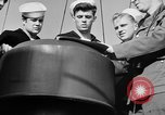 Image of LST communication using semaphore, signal flags, and blinking lights English Channel, 1944, second 40 stock footage video 65675051829