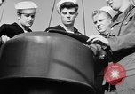Image of LST communication using semaphore, signal flags, and blinking lights English Channel, 1944, second 41 stock footage video 65675051829