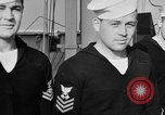 Image of LST communication using semaphore, signal flags, and blinking lights English Channel, 1944, second 43 stock footage video 65675051829