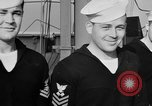 Image of LST communication using semaphore, signal flags, and blinking lights English Channel, 1944, second 44 stock footage video 65675051829