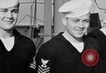 Image of LST communication using semaphore, signal flags, and blinking lights English Channel, 1944, second 45 stock footage video 65675051829