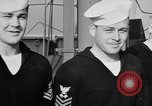 Image of LST communication using semaphore, signal flags, and blinking lights English Channel, 1944, second 46 stock footage video 65675051829