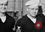 Image of LST communication using semaphore, signal flags, and blinking lights English Channel, 1944, second 47 stock footage video 65675051829