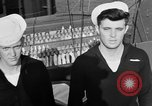 Image of LST communication using semaphore, signal flags, and blinking lights English Channel, 1944, second 55 stock footage video 65675051829