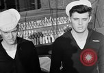 Image of LST communication using semaphore, signal flags, and blinking lights English Channel, 1944, second 56 stock footage video 65675051829