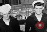 Image of LST communication using semaphore, signal flags, and blinking lights English Channel, 1944, second 58 stock footage video 65675051829