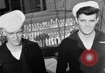 Image of LST communication using semaphore, signal flags, and blinking lights English Channel, 1944, second 59 stock footage video 65675051829