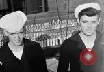 Image of LST communication using semaphore, signal flags, and blinking lights English Channel, 1944, second 60 stock footage video 65675051829