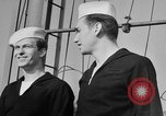 Image of LST communication using semaphore, signal flags, and blinking lights English Channel, 1944, second 61 stock footage video 65675051829