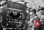 Image of American soldiers English Channel, 1944, second 16 stock footage video 65675051831