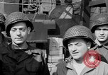 Image of American soldiers English Channel, 1944, second 19 stock footage video 65675051831