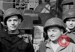 Image of American soldiers English Channel, 1944, second 21 stock footage video 65675051831