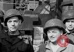 Image of American soldiers English Channel, 1944, second 22 stock footage video 65675051831