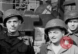 Image of American soldiers English Channel, 1944, second 23 stock footage video 65675051831