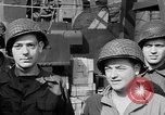 Image of American soldiers English Channel, 1944, second 24 stock footage video 65675051831