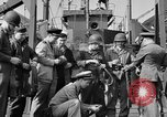 Image of American soldiers English Channel, 1944, second 39 stock footage video 65675051831