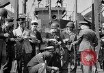 Image of American soldiers English Channel, 1944, second 42 stock footage video 65675051831