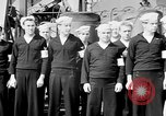 Image of American officer English Channel, 1944, second 4 stock footage video 65675051833