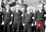 Image of American officer English Channel, 1944, second 5 stock footage video 65675051833