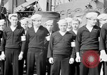 Image of American officer English Channel, 1944, second 8 stock footage video 65675051833