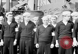 Image of American officer English Channel, 1944, second 9 stock footage video 65675051833