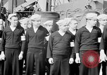 Image of American officer English Channel, 1944, second 11 stock footage video 65675051833