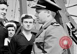 Image of American officer English Channel, 1944, second 14 stock footage video 65675051833