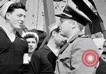 Image of American officer English Channel, 1944, second 16 stock footage video 65675051833
